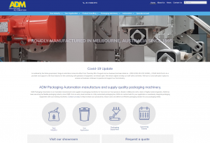 ADM Packaging Automation manufacture and supply quality packaging machinery.